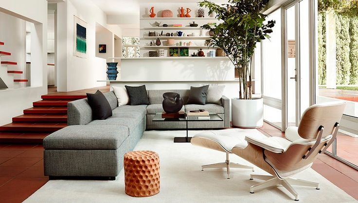 50 interieur ideeën met de eames lounge chair ideas for the house