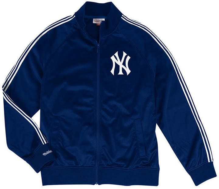 Men's New York Yankees Sublimated Sleeve Track Jacket in