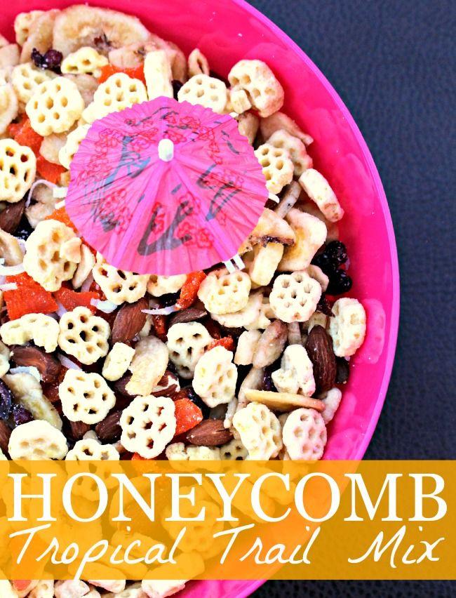 Honeycomb Tropical Trail Mix