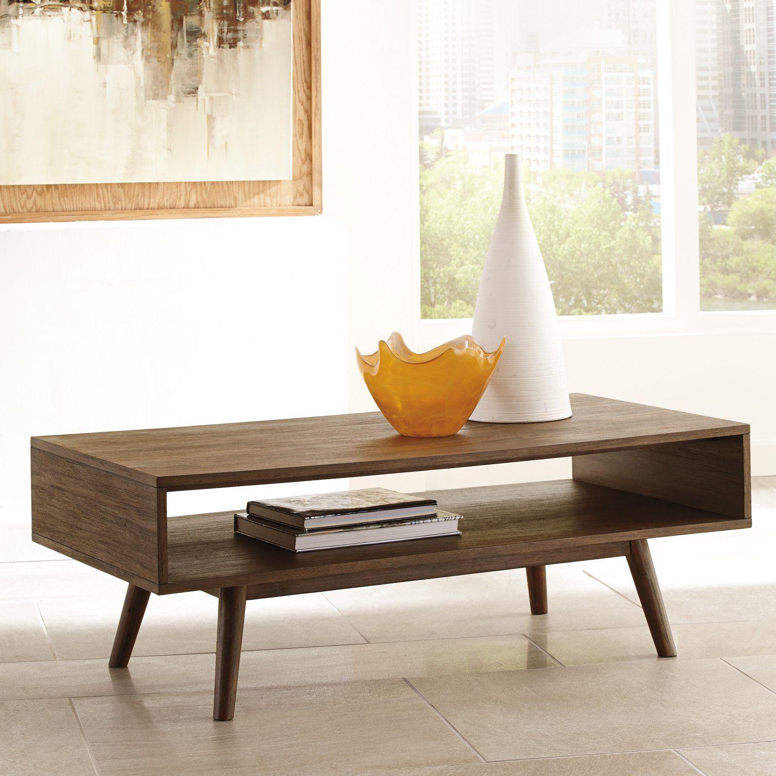 Signature Design By Ashley Kisper Rectangular Cocktail Table