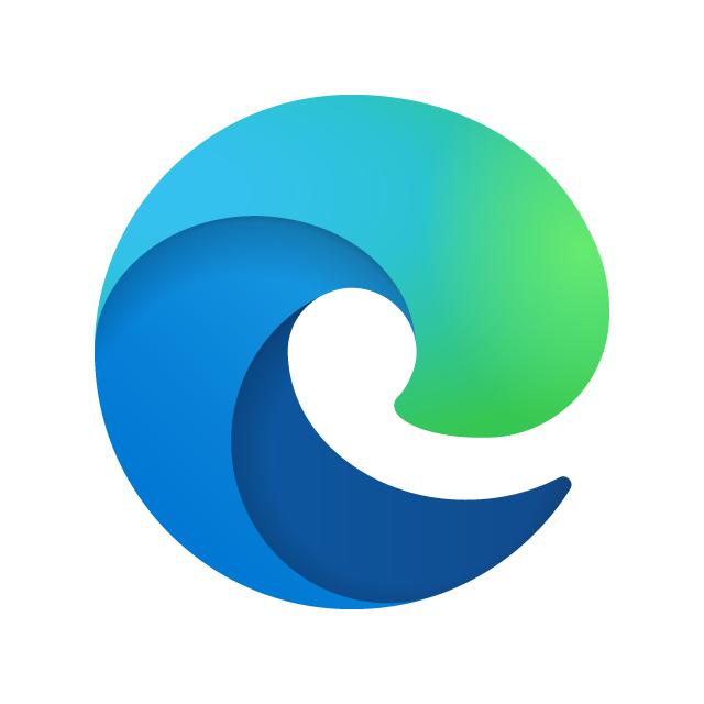 Microsoft Edge New 2020 Logo Vector Ai Cdr Eps Svg Free Download Edge Logo Microsoft Firefox Logo