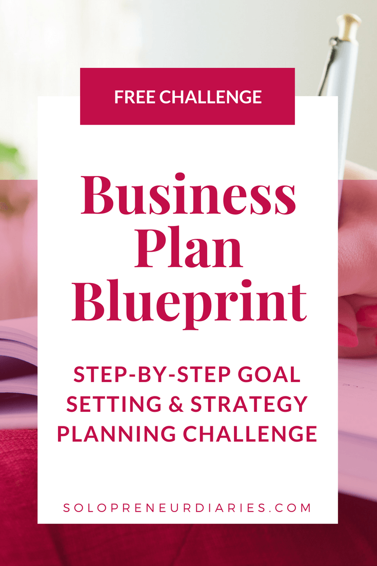 Business plan blueprint business ideas small business planning business plan blueprint solopreneur diaries malvernweather Images