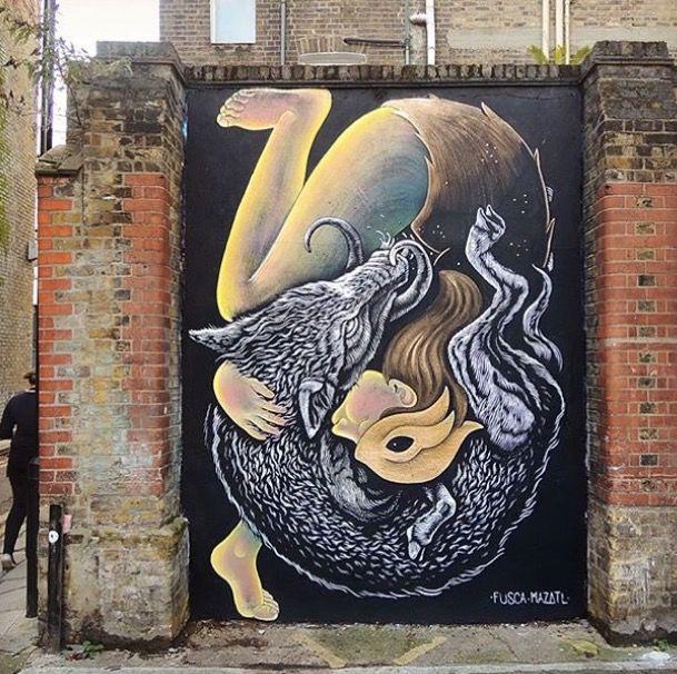 by Fusca + Mazatl in London, 2015 (LP)