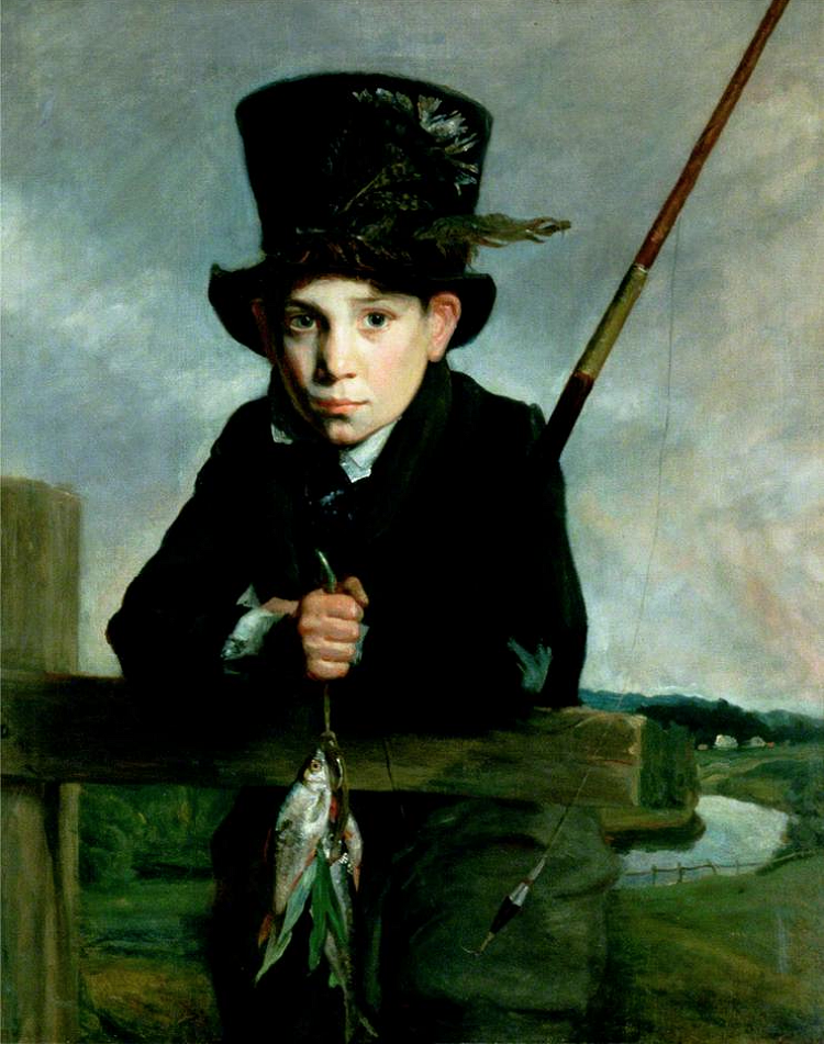 Portrait of a Boy in a Top Hat with Flies, by John Opie, circa 1800.
