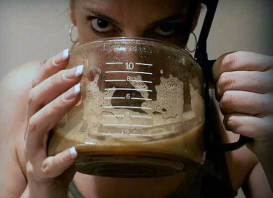 Gotta have coffee.