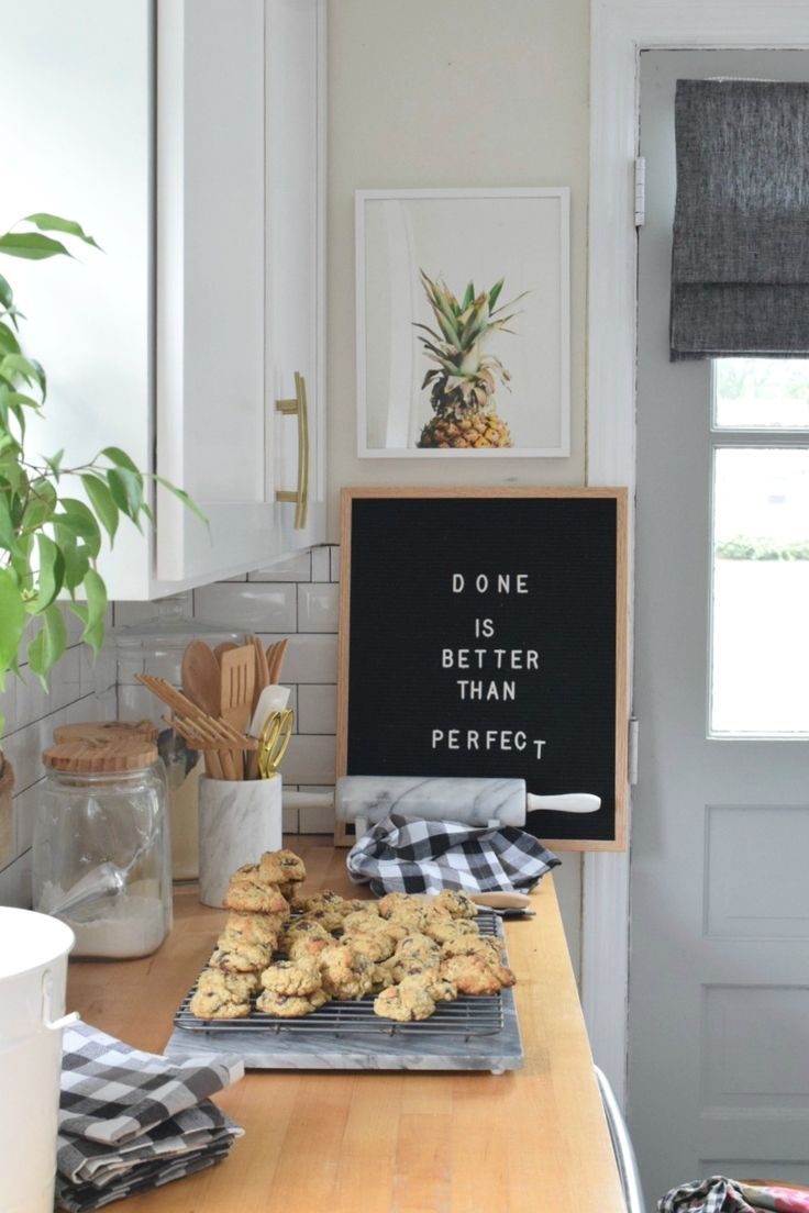 Friday Favorites Starts With Easiest Pumpkin Cookie Recipe Nesting With Grace Recipe Kitchen Letters Letter Board Easy Pumpkin Cookies Recipes