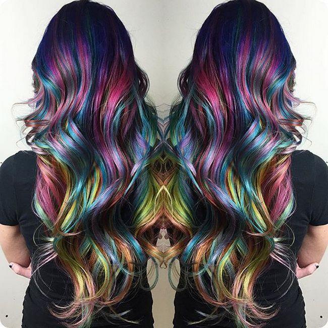 Колорирование на темные и светлые волосы (55 фото ...