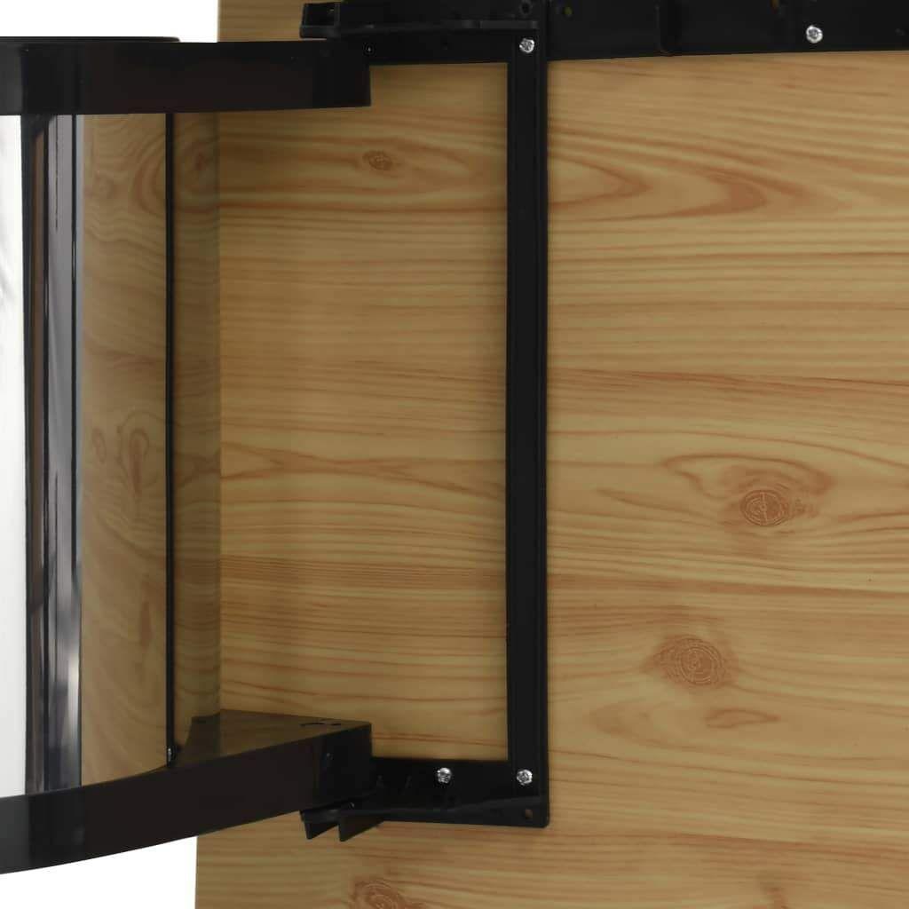vidaXL Built-in stainless steel kitchen waste bin …