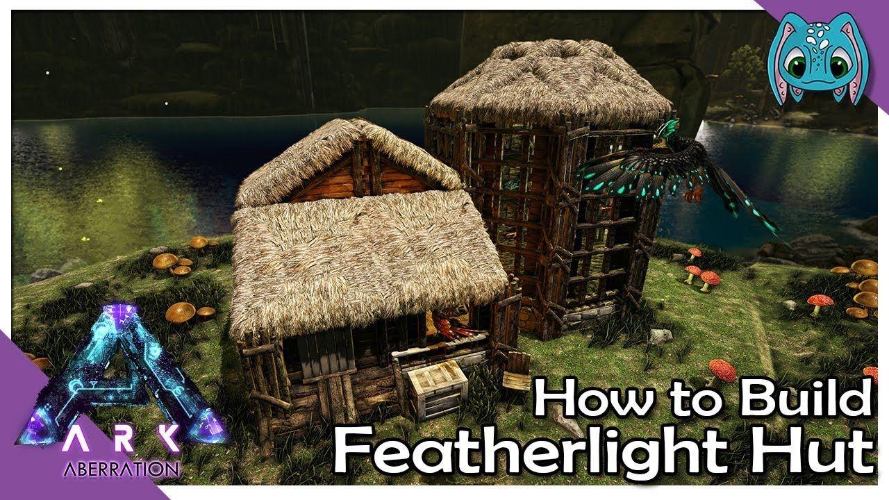 How To Build Featherlight Hut Ark Building W Fizz No Mods Ark Ark Survival Evolved Bases Ark Survival Evolved