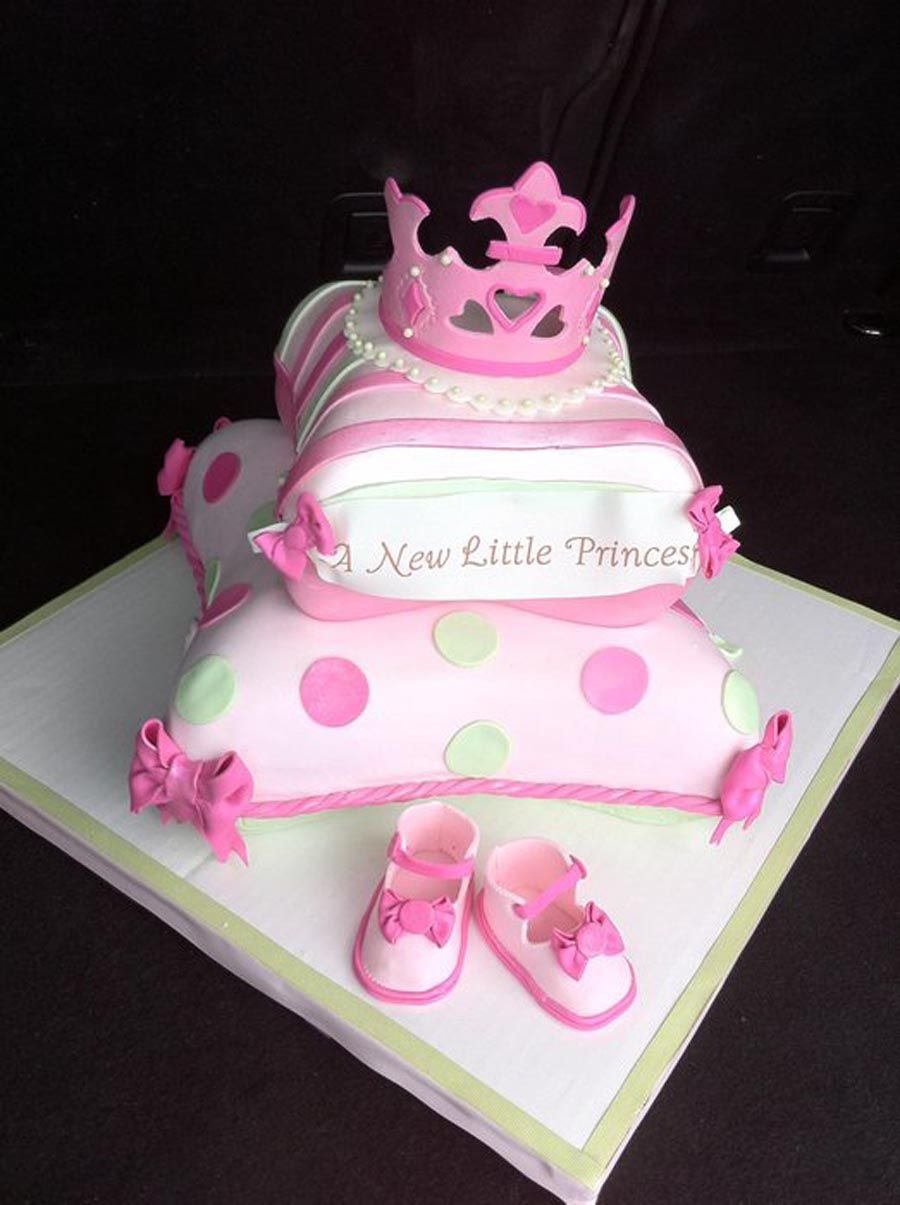 Princess Baby Shower Cakes