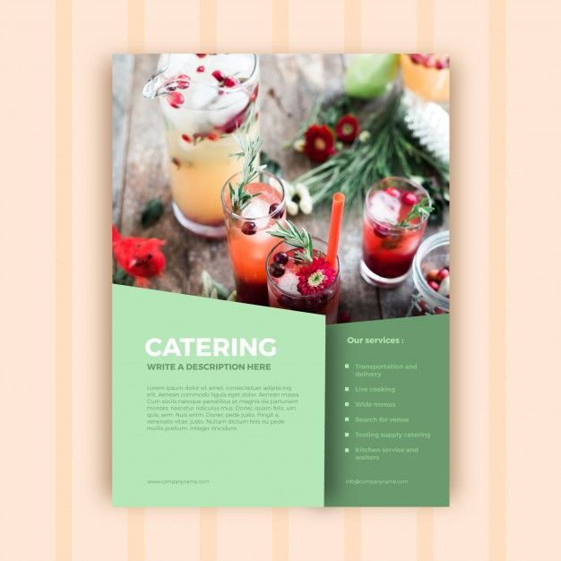 Catering Advertisement Template