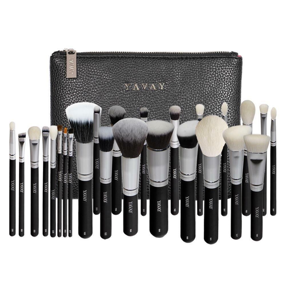 25pcs Original Pro Luxury Artist Makeup Brush Set Goat Hair Synthetic Hair Ebay Makeup Brush Set It Cosmetics Brushes Makeup Brushes