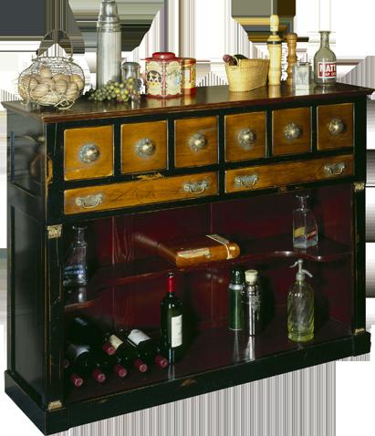 meuble style bistrot latest cuisine bar brique ilot cuisine idees style art with meuble style. Black Bedroom Furniture Sets. Home Design Ideas