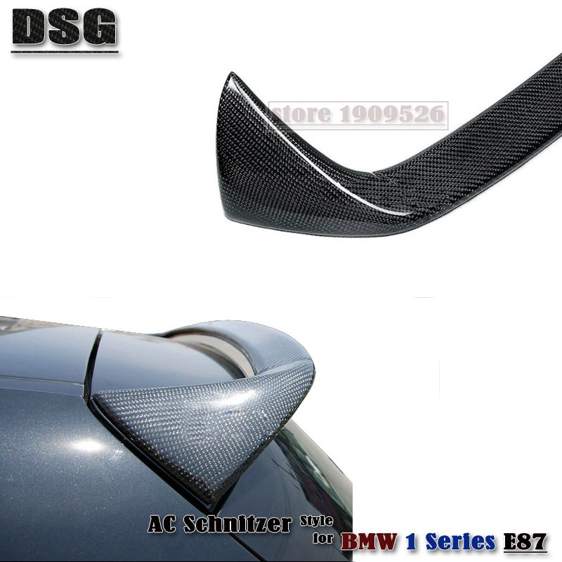E87 Ac Schnitzer Style Roof Spoiler Car Wing For Bmw 1 Series E87