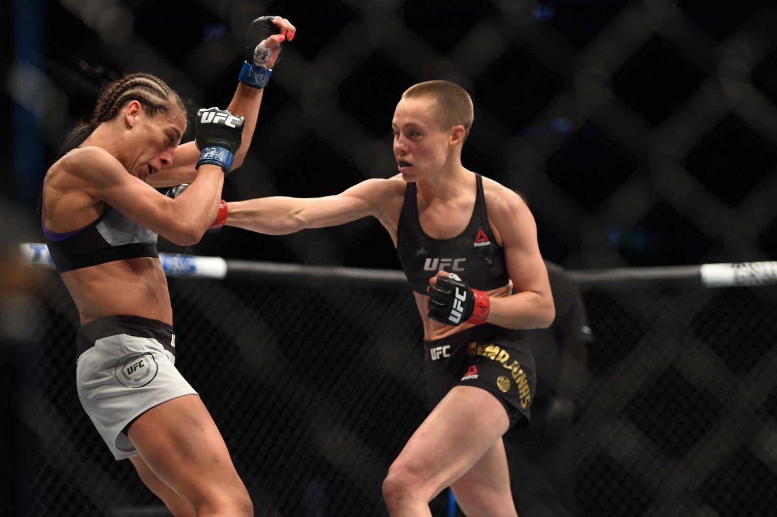 Rose Namajunas : She did it again   mma   Rose namajunas, Women boxing, Ufc fighters
