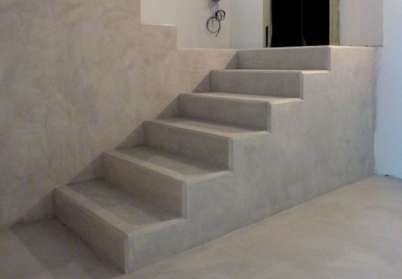 Resina biomalta bianca effetto marmo finitura satinata scale pinterest scale and house - Resina per scale ...