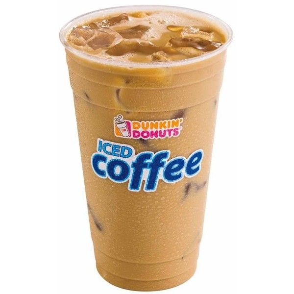 Mocha Iced Coffee From Dunkin Donuts Liked On Polyvore