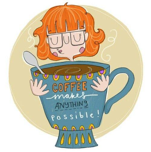 Coffee makes me happy:)