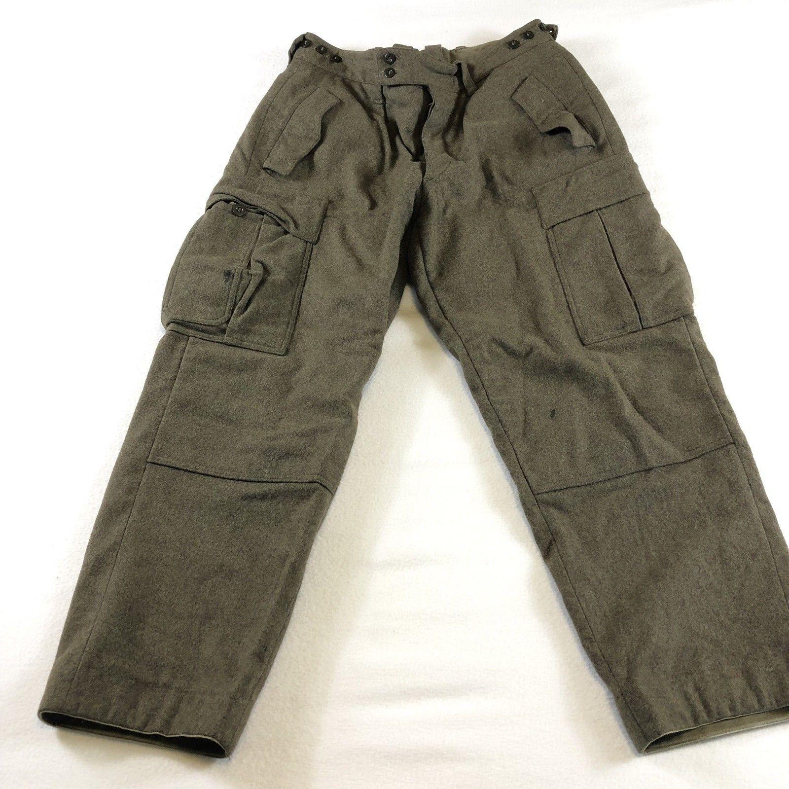 Original Vintage US GI Military M65 Field Trousers