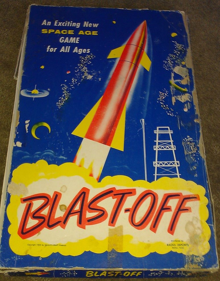 BlastOff Board games, Space exploration, Space race