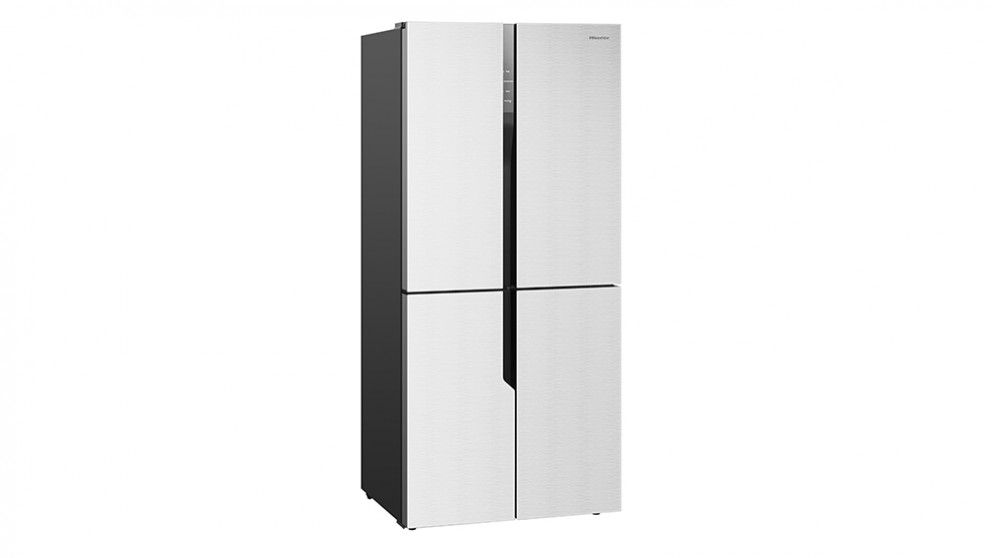 Give Your Home A Luxurious And Sophisticated Feel With The Hisense White Glass Four Door Refrigerator Experience Difference Frost Free Technology