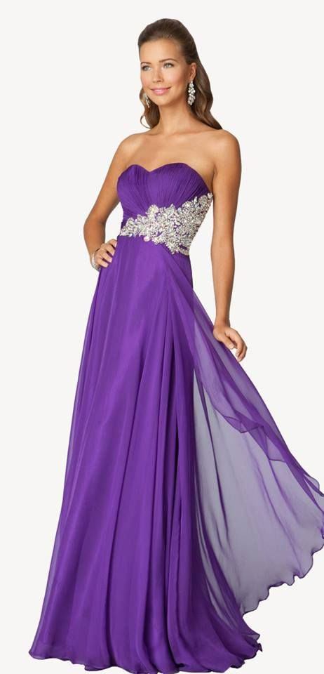 Purple dress!