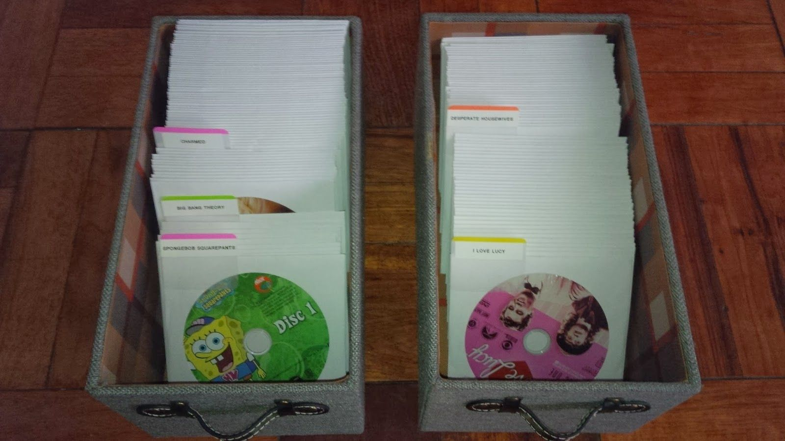 How to save space by organizing your DVDs, CDs, and Video Games!