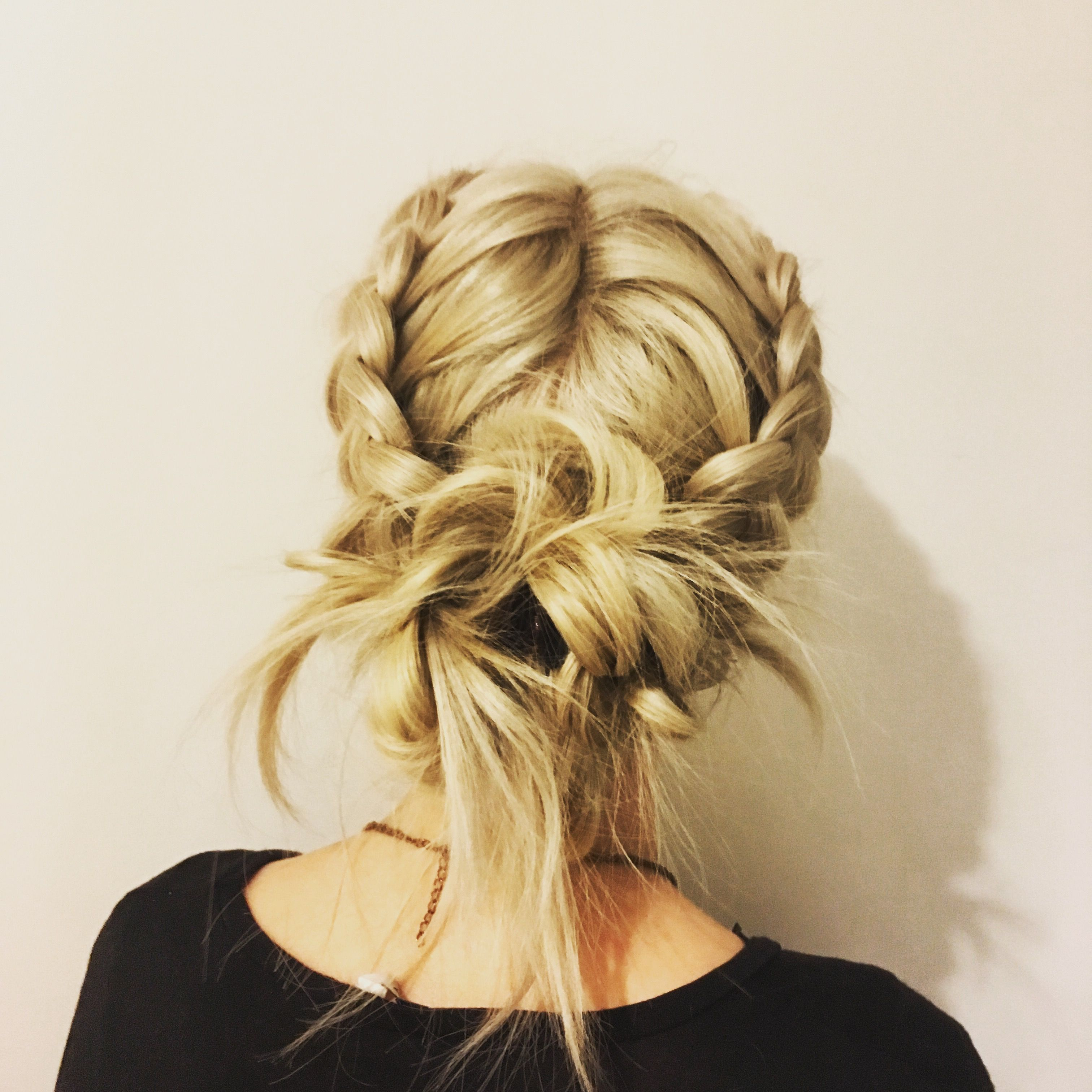 Braided Updo Hair Pinterest Updo Blondes And Hair Style