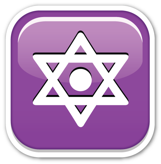The Image Of Six Pointed Star With A Dot In The Middle Is The Emoji That Symbolizes The Star Of David Although It Has Emoticon Emojis And Their Meanings Dots
