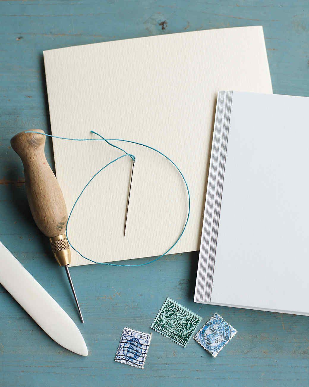 Hand Sewing, Handmade Journals