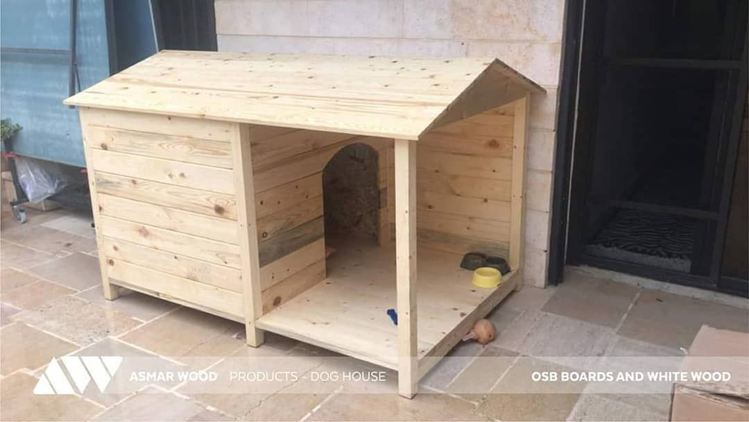 A Cute Project That We Took On Was This Dog House This Double Layered Dog House Is Made With Osb On The Inside And Red Wood On The Outside Dog