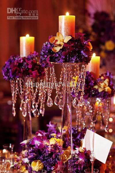 Wholesale Crystal Centerpiece