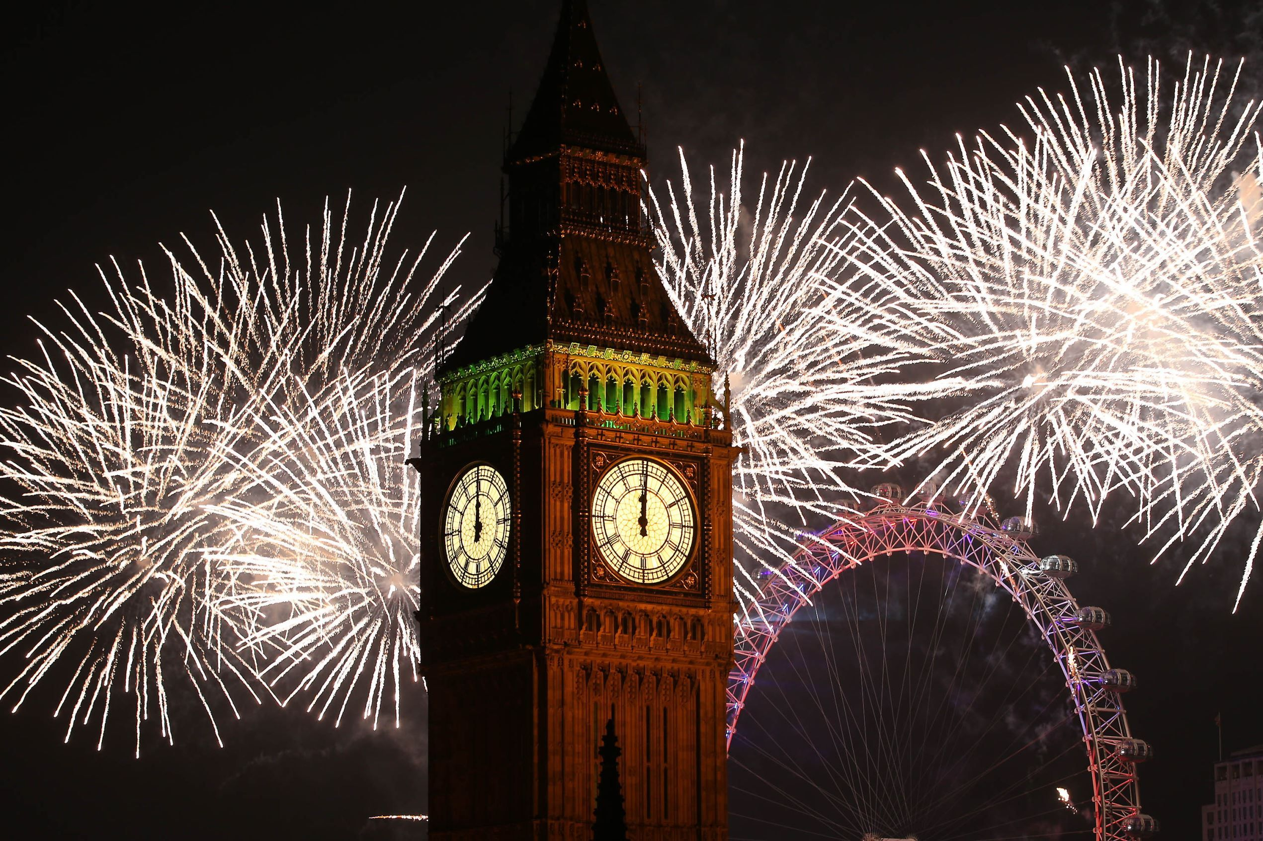 2015! New Year's Eve celebrations from around the