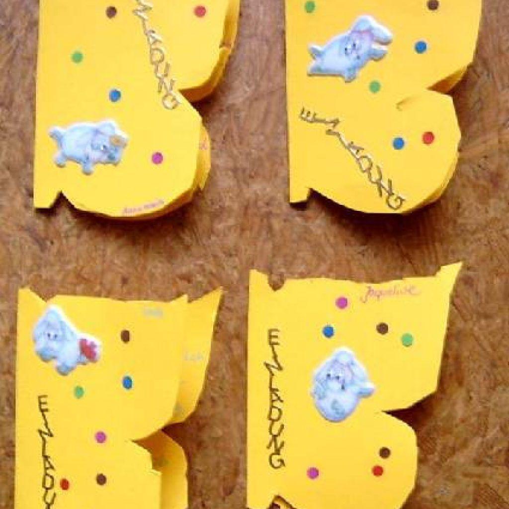 Einladungskarte Kindergeburtstag: Einladungskarten Kindergeburtstag Basteln