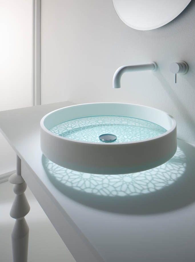 40 Catchy And Dazzling Bathroom Sinks Glass Basin Sink Design