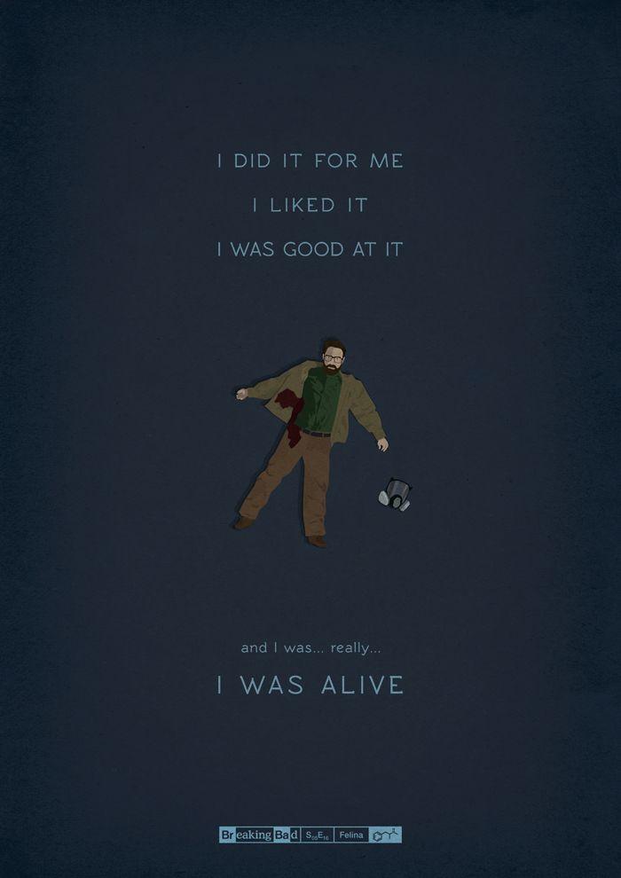 Homenaje a Breaking Bad, los 62 episodios en carteles ilustrados
