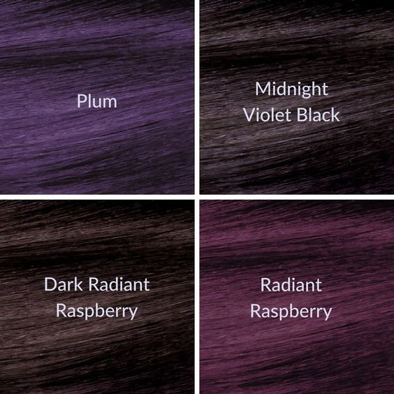 Which New Ion Color Brilliance Violet Series Permanent Hair