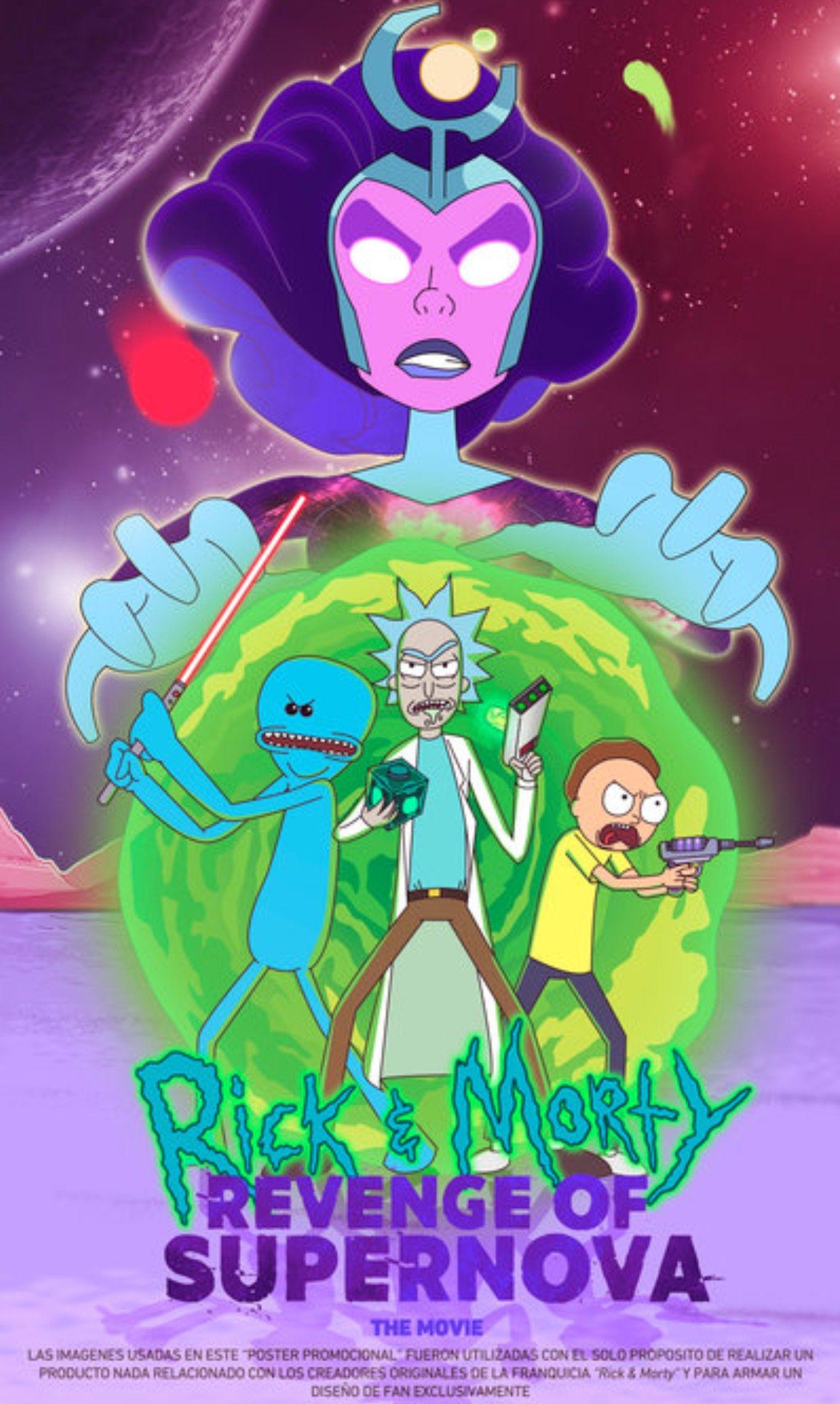 Rick And Morty X Revenge Of Supernova Rick And Morty Image R