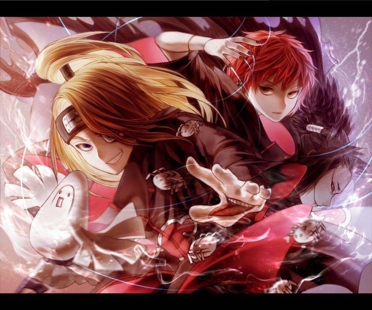Dei Y Sasori 7u7 C Ven Divinos 3 Sasori And Deidara Anime Naruto Anime