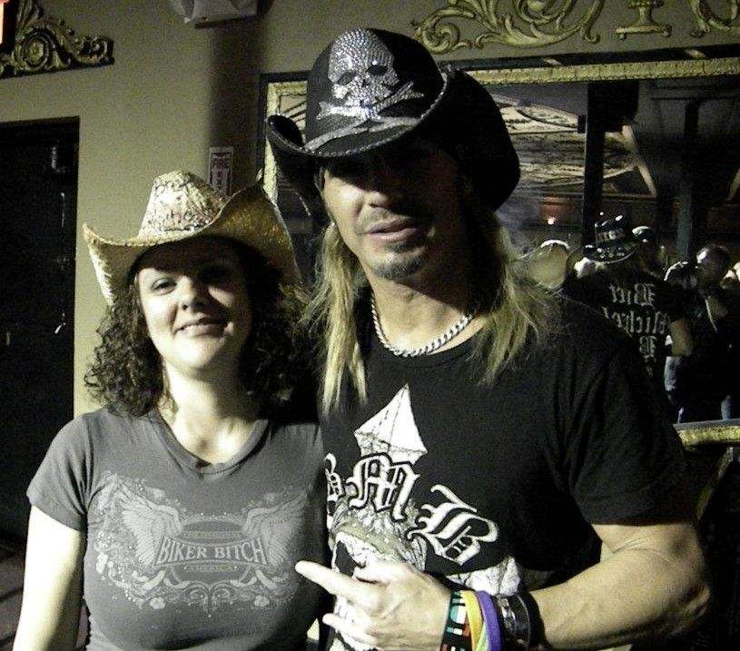 Me with Bret Michaels 121511 in Niagara Falls Bret