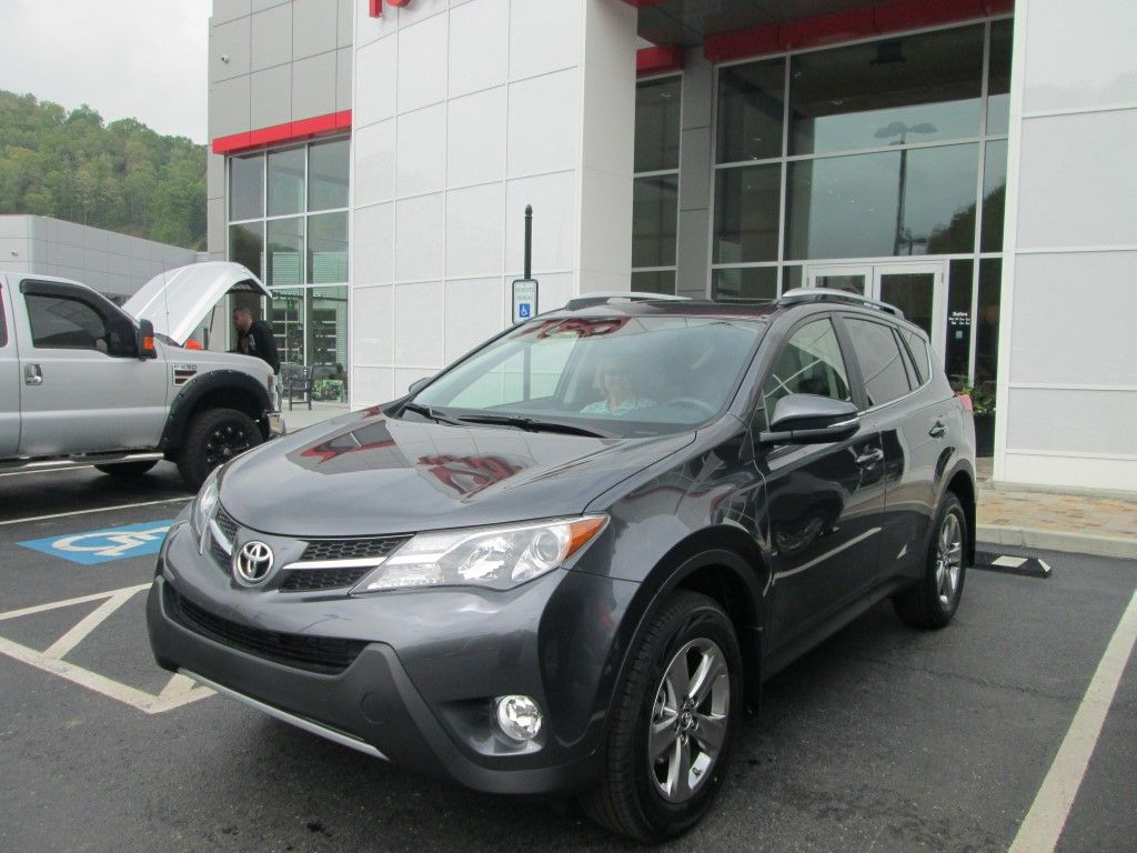 Beautiful They Purchased This Sharp New 2015 #Toyota #Rav4 From Johnny Venters! Thank  You And We Welcome You To The Walters Toyota Nissan Family!