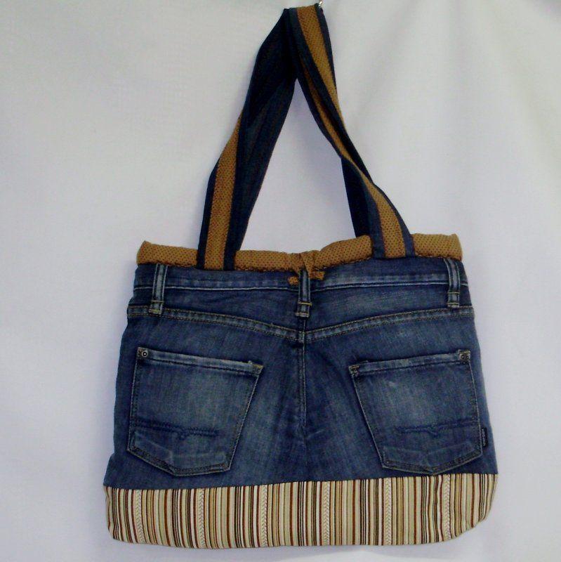 Bolsa De Tecido E Jeans : Como fazer bolsas com jeans velho pesquisa google