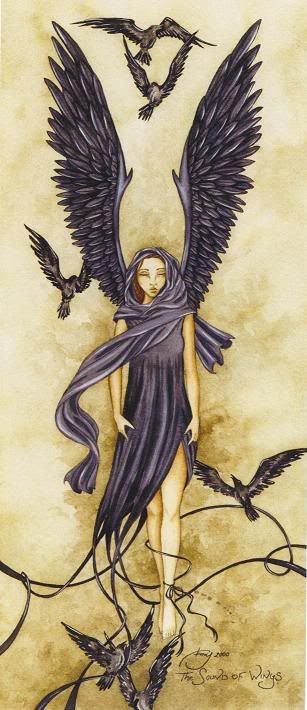 The Sound Of Wings...this was the inspiration for my arm tattoo!