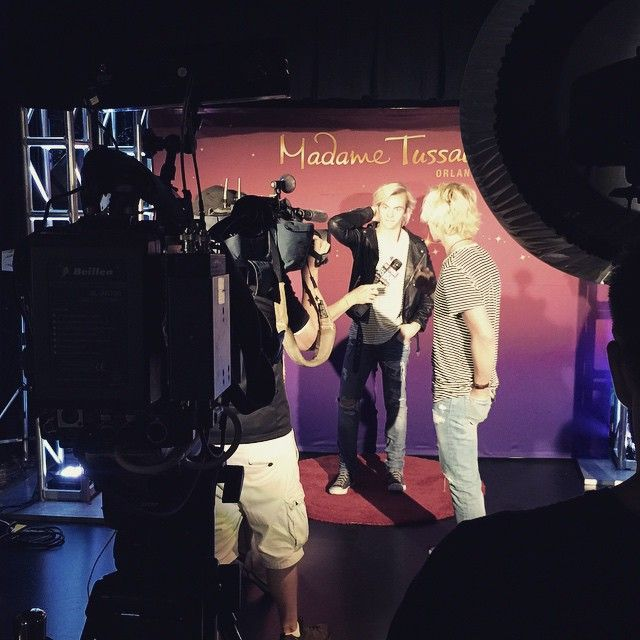 Stormie on Instagram:THIS WAS SO COOL TO SEEMORE TO LOVE  SUCH GREAT HISTORY AT MADAME TUSSAUDS XOXOX