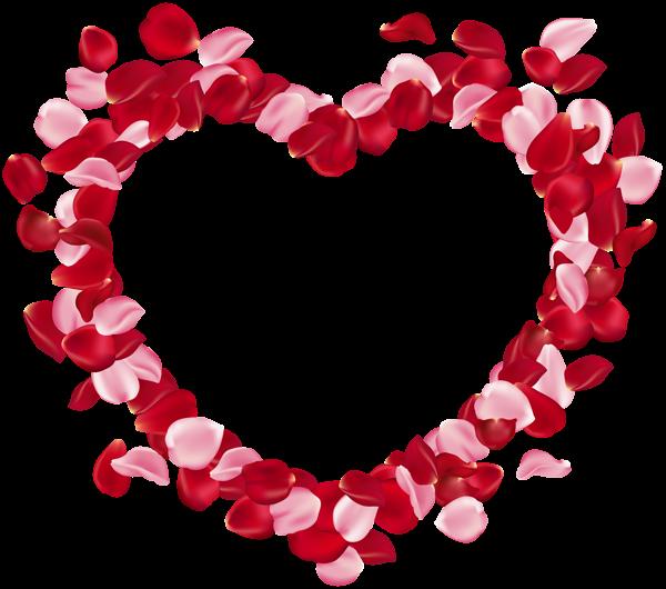 Heart Rose Petals Clip Art Image Art Images Clip Art Free Clip Art
