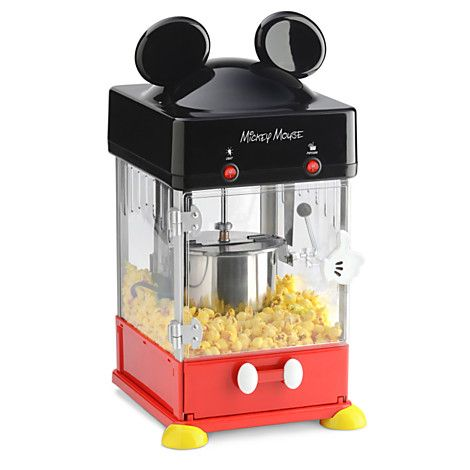 Disney Merch Maven: Find Of The Day: Mickey Mouse Kettle Popcorn Poppe.
