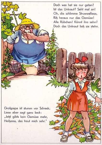 Www Eichwaelder De Bilderbuch 50er Struwwelliese Struwwelliese Geschichten Fur Kinder Kinderbucher