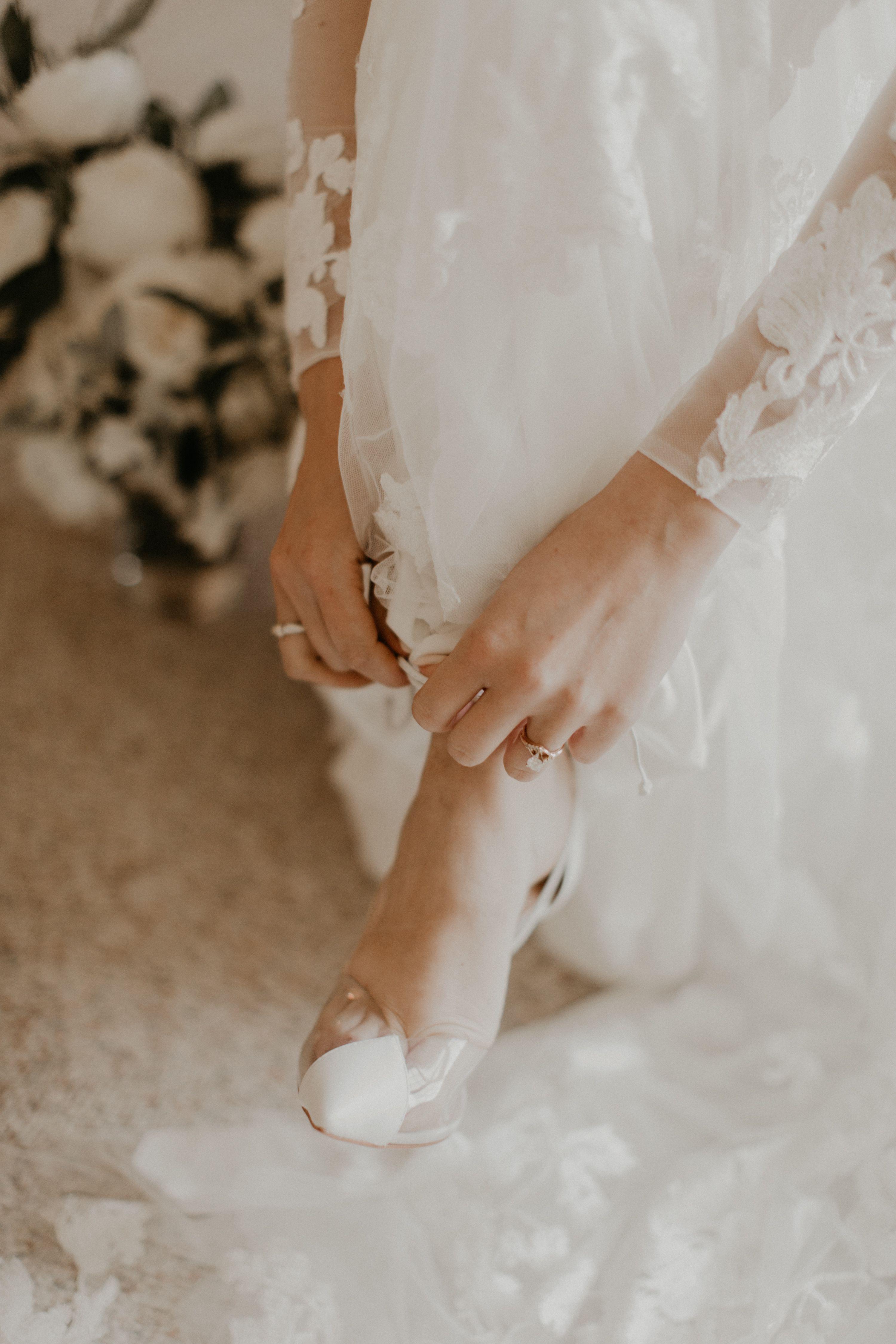 Out Beautywithinbride Brooke Wore The Most Gorgeous Bridal