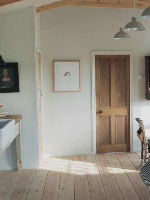 A Simple Bespoke Cabin in North Yorkshire, Father/Son Edition - Remodelista