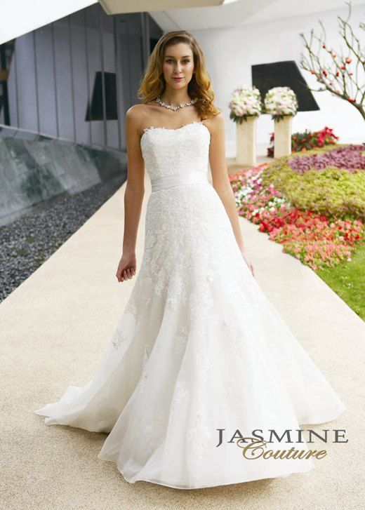 View Dress - COLLECTION COUTURE - T282 | Jasmine Bridal | Bridal ...